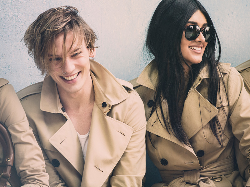 Jamie-Campbell-Bower-and-Neelam-Johanl-behind-the-scenes-on-the-Burberry-Spring_Summer-2014-campaign