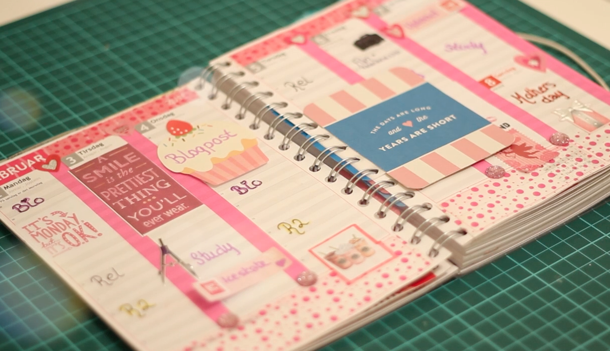 Where to buy cute planner supplies in a secret for Planner design ideas