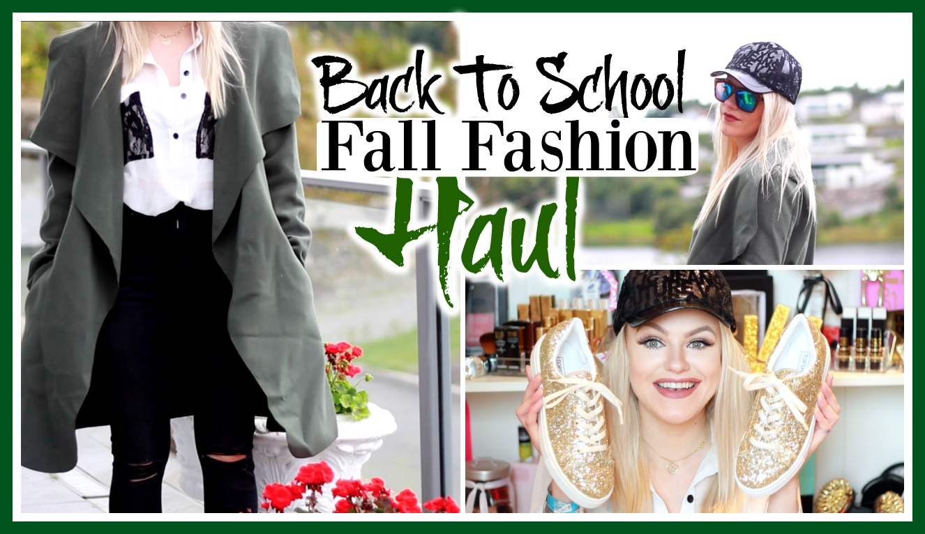 41b72290 Back To School | Fall Try-On Clothing Haul – In A Secret ...